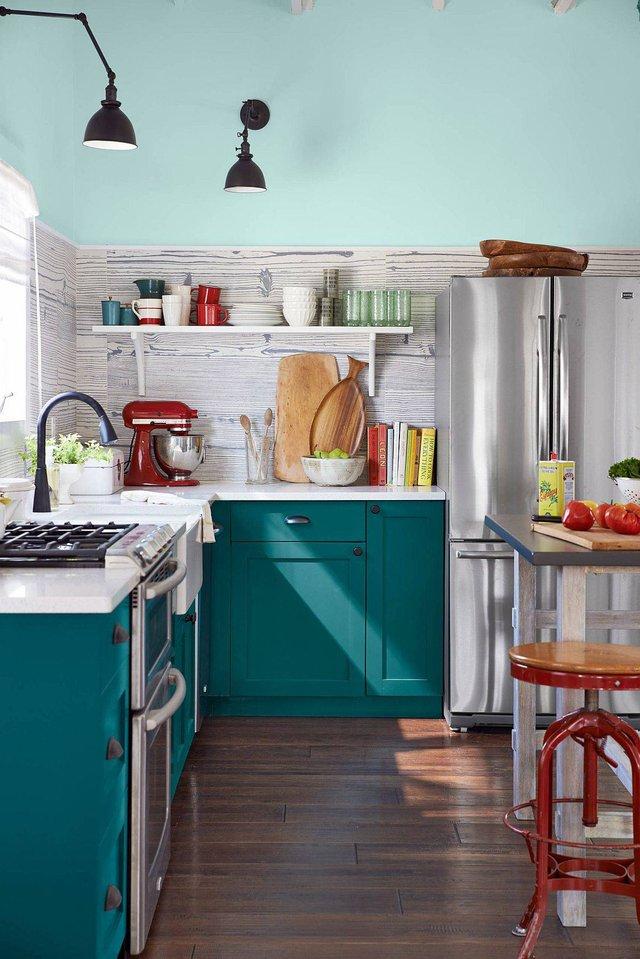8 phong cách xịn sò cho những phòng bếp nhỏ: Mọi ngóc ngách được tận dụng triệt để, vừa đẹp vừa sang lại rất tiện  - Ảnh 4.
