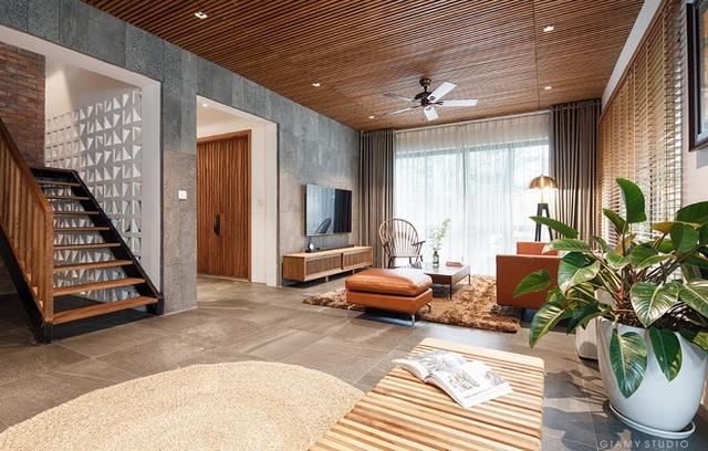 Nhà liền kề ở Ecopark: Diện tích 78m2 nhưng rộng rãi chẳng kém villa, thiết kế tối giản nhưng vẫn đầy cá tính  - Ảnh 3.