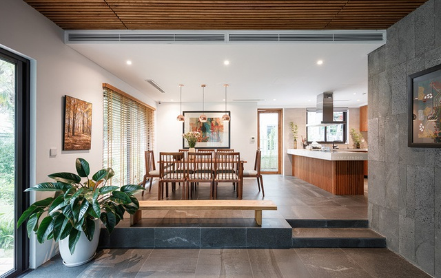 Nhà liền kề ở Ecopark: Diện tích 78m2 nhưng rộng rãi chẳng kém villa, thiết kế tối giản nhưng vẫn đầy cá tính  - Ảnh 5.