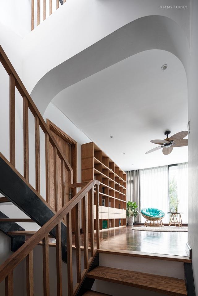 Nhà liền kề ở Ecopark: Diện tích 78m2 nhưng rộng rãi chẳng kém villa, thiết kế tối giản nhưng vẫn đầy cá tính  - Ảnh 8.