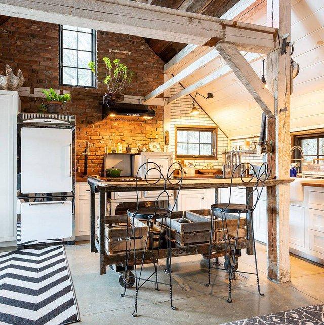 8 phong cách xịn sò cho những phòng bếp nhỏ: Mọi ngóc ngách được tận dụng triệt để, vừa đẹp vừa sang lại rất tiện  - Ảnh 7.