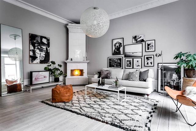 10 ý tưởng phòng khách hiện đại giữa thế kỷ 21, toàn là những xu hướng vượt thời gian nhìn là mê say - Ảnh 4.