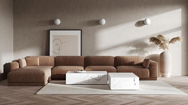 10 ý tưởng phòng khách hiện đại giữa thế kỷ 21, toàn là những xu hướng vượt thời gian nhìn là mê say - Ảnh 2.