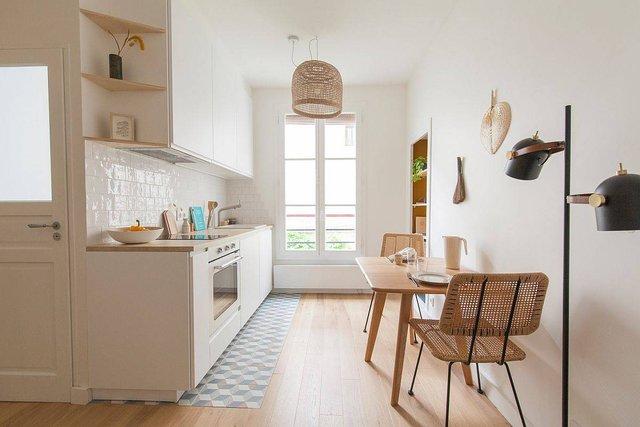 8 phong cách xịn sò cho những phòng bếp nhỏ: Mọi ngóc ngách được tận dụng triệt để, vừa đẹp vừa sang lại rất tiện  - Ảnh 5.