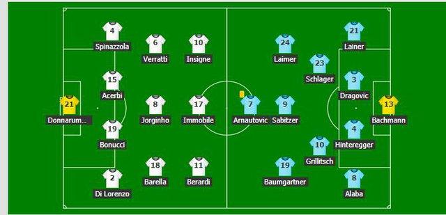 Thắng nghẹt thở Áo với tỷ số 2-1 ở hiệp phụ, Italia vào tứ kết Euro 2020 - Ảnh 1.
