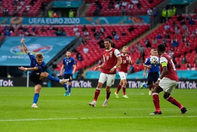 Thắng nghẹt thở Áo với tỷ số 2-1 ở hiệp phụ, Italia vào tứ kết Euro 2020 - Ảnh 5.