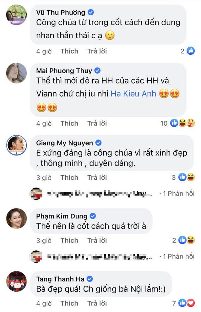 Hoa hậu Hà Kiều Anh hé lộ gia thế khủng: Là công chúa đời thứ 7, cháu vua chúa, Hà Tăng và dàn sao thốt lên điều này  - Ảnh 5.