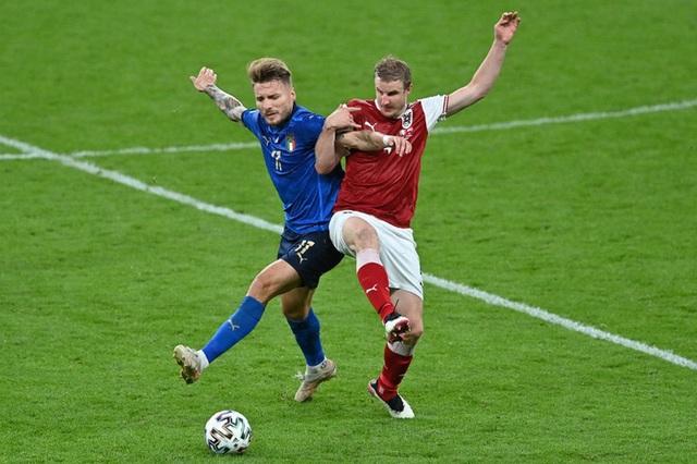 Thắng nghẹt thở Áo với tỷ số 2-1 ở hiệp phụ, Italia vào tứ kết Euro 2020 - Ảnh 6.