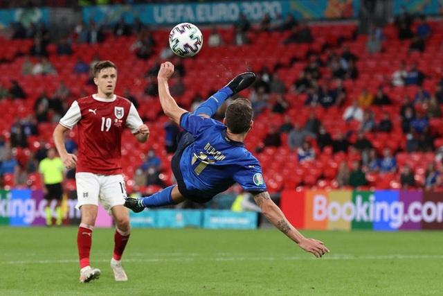 Thắng nghẹt thở Áo với tỷ số 2-1 ở hiệp phụ, Italia vào tứ kết Euro 2020 - Ảnh 9.