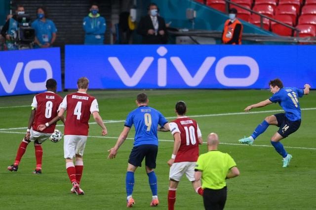 Thắng nghẹt thở Áo với tỷ số 2-1 ở hiệp phụ, Italia vào tứ kết Euro 2020 - Ảnh 10.