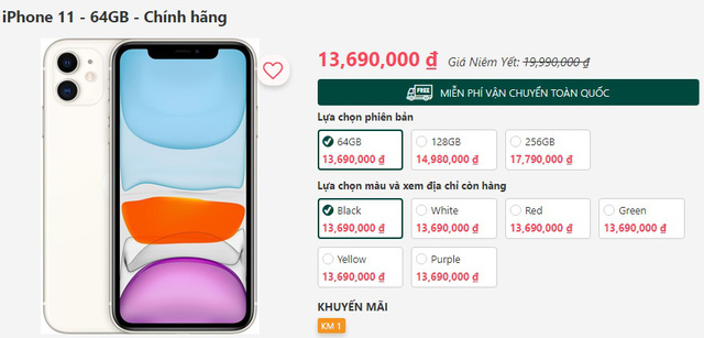 Về giá rẻ nhất thế giới, iPhone 11 có đáng mua tại Việt Nam? - Ảnh 1.