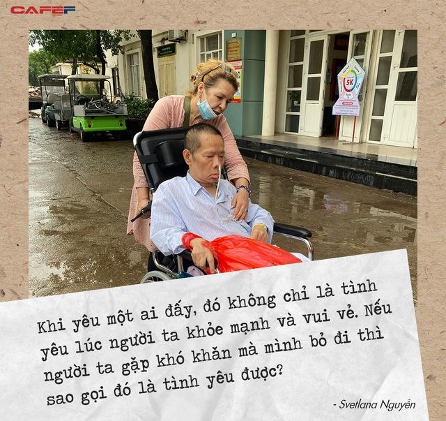 Người vợ Ukraine 20 năm chăm chồng Việt đột quỵ: Nơi nào có gia đình, nơi đó là nhà, là quê hương!  - Ảnh 4.