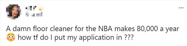 Fan đổ xô theo đuổi giấc mơ NBA bằng sự nghiệp... lau sàn vì việc nhẹ lương cao - Ảnh 5.
