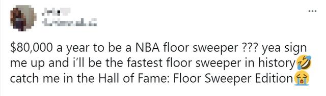 Fan đổ xô theo đuổi giấc mơ NBA bằng sự nghiệp... lau sàn vì việc nhẹ lương cao - Ảnh 6.