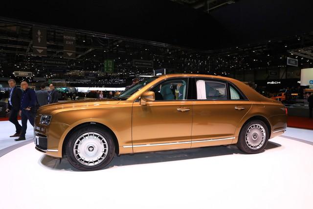 Rolls-Royce của nước Nga bắt đầu sản xuất đại trà - xe phục vụ Tổng thống Putin được bình dân hoá - Ảnh 3.