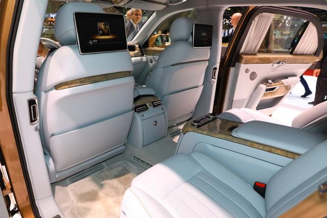 Rolls-Royce của nước Nga bắt đầu sản xuất đại trà - xe phục vụ Tổng thống Putin được bình dân hoá - Ảnh 9.