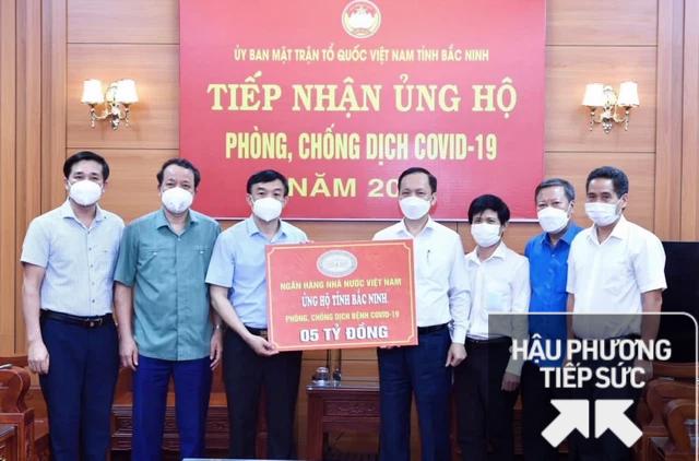 NHNN ủng hộ tỉnh Bắc Ninh và Bắc Giang phòng, chống dịch bệnh Covid-19, mỗi tỉnh 5 tỷ đồng - Ảnh 1.