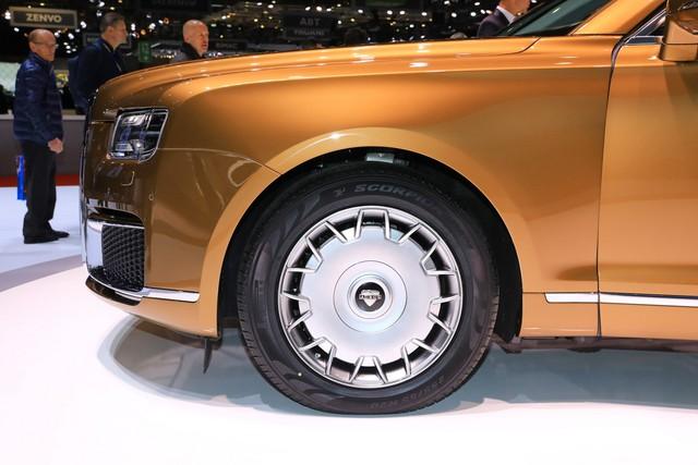 Rolls-Royce của nước Nga bắt đầu sản xuất đại trà - xe phục vụ Tổng thống Putin được bình dân hoá - Ảnh 4.