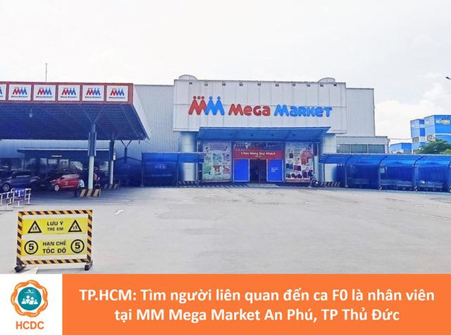 NÓNG: Truy tìm những người từng đến siêu thị Mega Market An Phú TP Thủ Đức  - Ảnh 1.