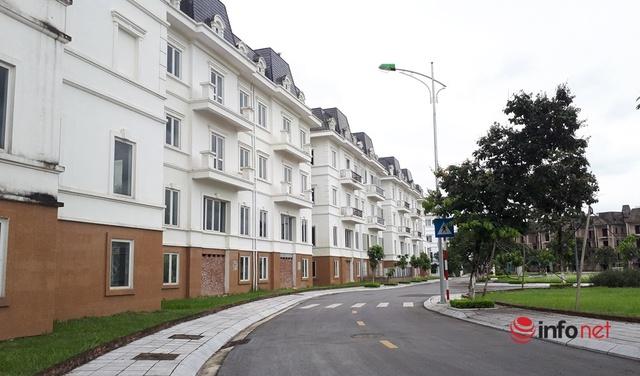 Phải có trong tay hàng chục tỷ đồng mới mơ đến việc mua biệt thự, liền kề, nhà phố thương mại ở Hà Nội hiện nay. (Ảnh: Minh Thư)