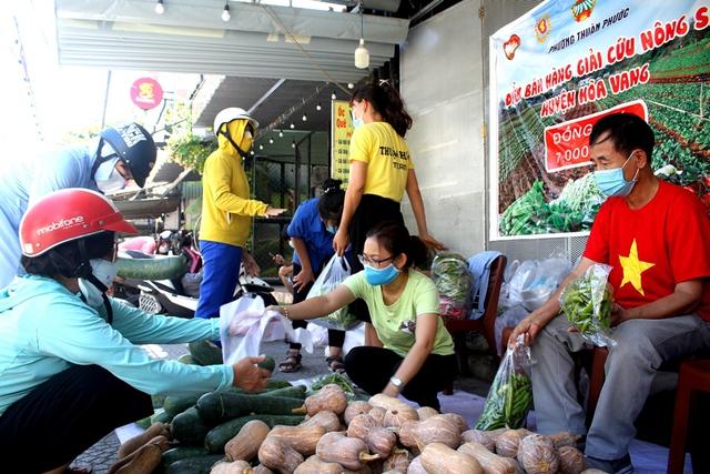 Đà Nẵng chung tay hỗ trợ tiêu thụ nông sản cho bà con nông dân - Ảnh 6.