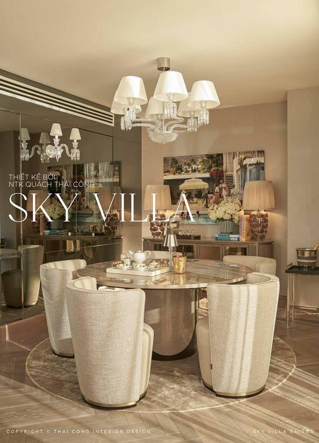Nữ đại gia ở Sky Villa 200m2, làm nội thất hết 1 triệu đô nói về Thái Công mấy dòng mà được khen: Đúng là tư duy người có tiền - Ảnh 2.