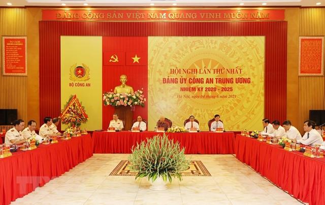 Công bố quyết định của Bộ Chính trị chỉ định nhân sự Đảng ủy công an Trung ương - Ảnh 3.