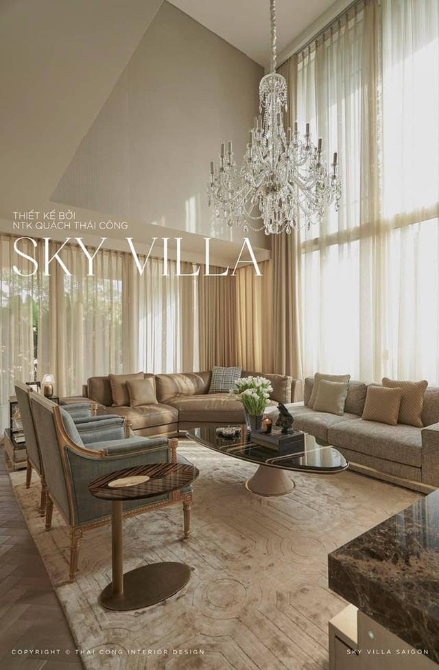 Nữ đại gia ở Sky Villa 200m2, làm nội thất hết 1 triệu đô nói về Thái Công mấy dòng mà được khen: Đúng là tư duy người có tiền - Ảnh 3.