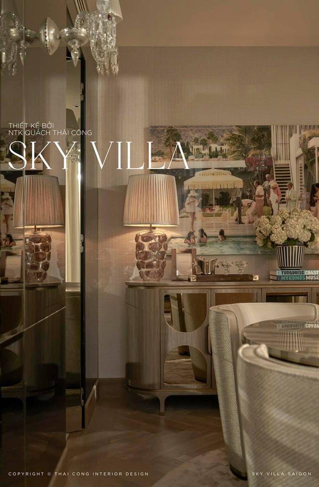 Nữ đại gia ở Sky Villa 200m2, làm nội thất hết 1 triệu đô nói về Thái Công mấy dòng mà được khen: Đúng là tư duy người có tiền - Ảnh 4.