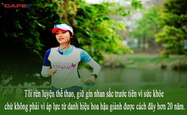 Hoa hậu Nguyễn Thu Thủy: Tiếc thương người đẹp không tuổi tài sắc vẹn toàn, thông minh, bản lĩnh, sống lành mạnh vì nâng cao sức khỏe của chính mình - Ảnh 5.