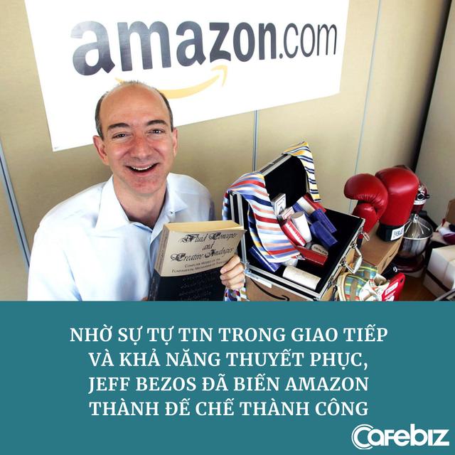 Có 2 kiểu tự tin và Jeff Bezos thuộc kiểu có thể khiến người khác rót 8 triệu USD vào Amazon chỉ bằng 1 nụ cười - Ảnh 2.