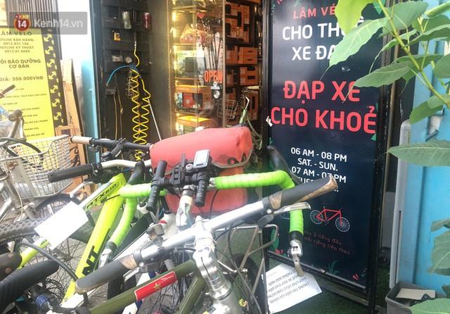 Người Hà Nội đổ xô đi thuê xe đạp, tiểu thương ung dung kiếm tiền triệu mỗi ngày - Ảnh 9.