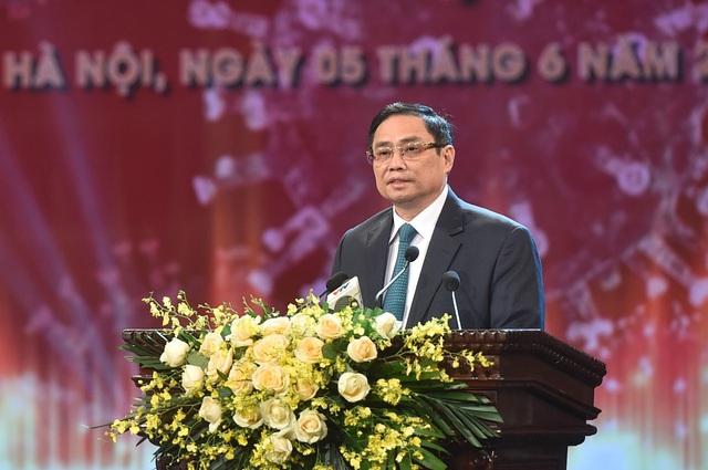 Thủ tướng Phạm Minh Chính: Quỹ vắc xin là quỹ của sự nhân ái, niềm tin, tinh thần đoàn kết - Ảnh 1.