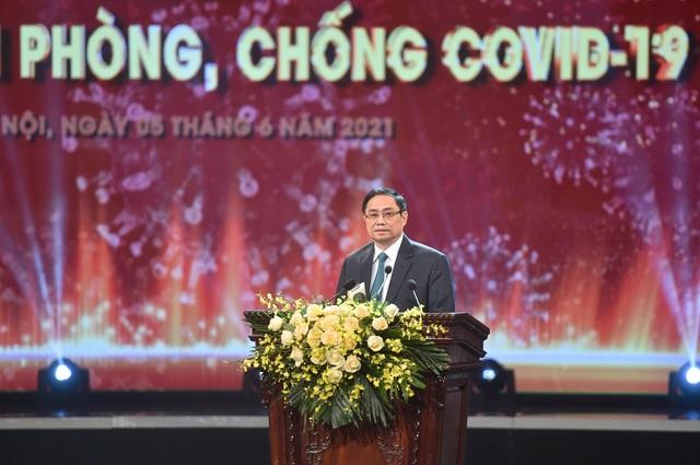 Thủ tướng Phạm Minh Chính: Quỹ vắc xin là quỹ của sự nhân ái, niềm tin, tinh thần đoàn kết - Ảnh 2.