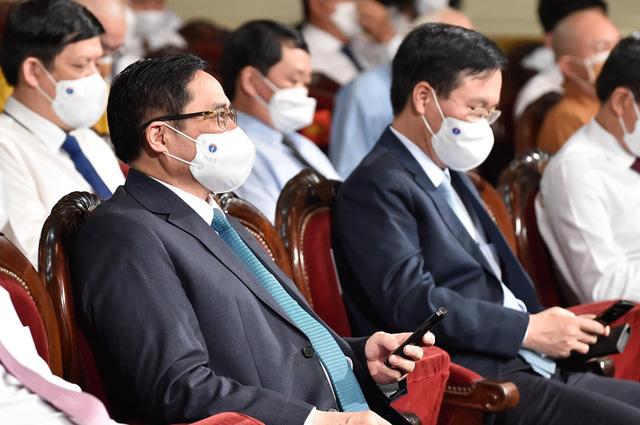 Thủ tướng Phạm Minh Chính: Quỹ vắc xin là quỹ của sự nhân ái, niềm tin, tinh thần đoàn kết - Ảnh 5.