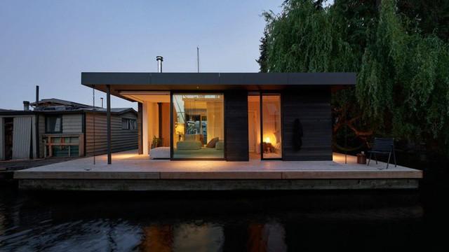 Chiêm ngưỡng mẫu nhà nổi tuyệt đẹp giành giải thưởng thiết kế của năm  - Ảnh 2.
