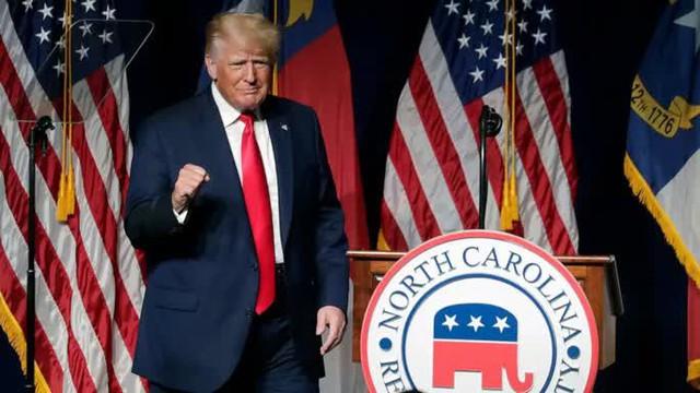 Ông Trump rời đại bản doanh Florida, tuyên bố Mỹ đang tụt lùi  - Ảnh 1.