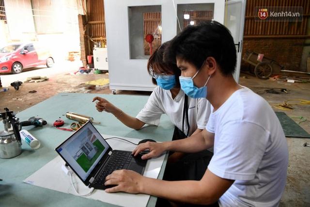 Ảnh: Sau hơn 100 giờ thai nghén, buồng lấy mẫu xét nghiệm kín, gắn điều hoà đã được chuyển tới tâm dịch Bắc Giang - Ảnh 5.
