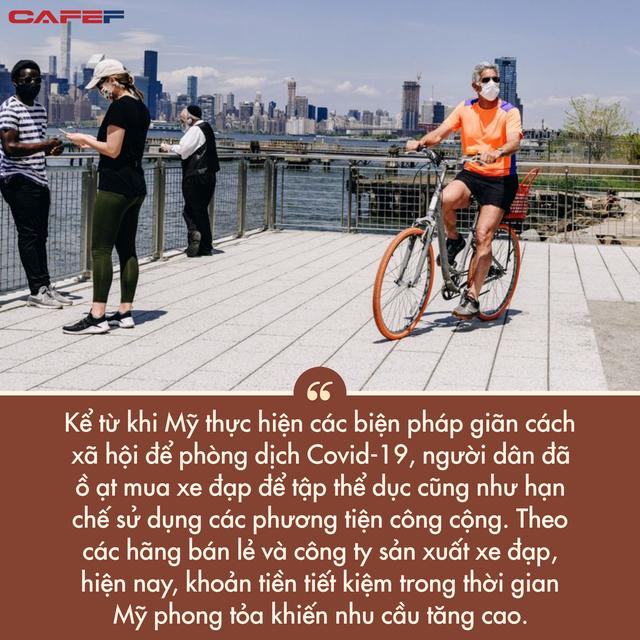 Lạm phát tăng nóng tạo ra cơn sốt điên cuồng ở Mỹ: Người dân chi gần 5.000 USD cho một chiếc xe đạp, nhưng vẫn không có hàng để mua  - Ảnh 3.