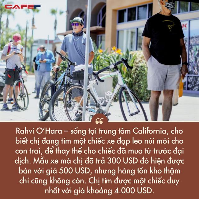 Lạm phát tăng nóng tạo ra cơn sốt điên cuồng ở Mỹ: Người dân chi gần 5.000 USD cho một chiếc xe đạp, nhưng vẫn không có hàng để mua  - Ảnh 5.