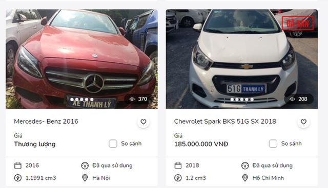 Soi loạt ô tô ngân hàng thanh lý giá siêu rẻ, chỉ từ hơn 100 triệu đồng - Ảnh 2.