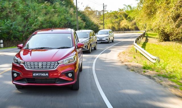 """Thị trường ô tô Việt đón bão giảm giá: Suzuki Ertiga chạm sàn, Subaru Forester """"bay màu"""" gần 160 triệu đồng - Ảnh 2."""