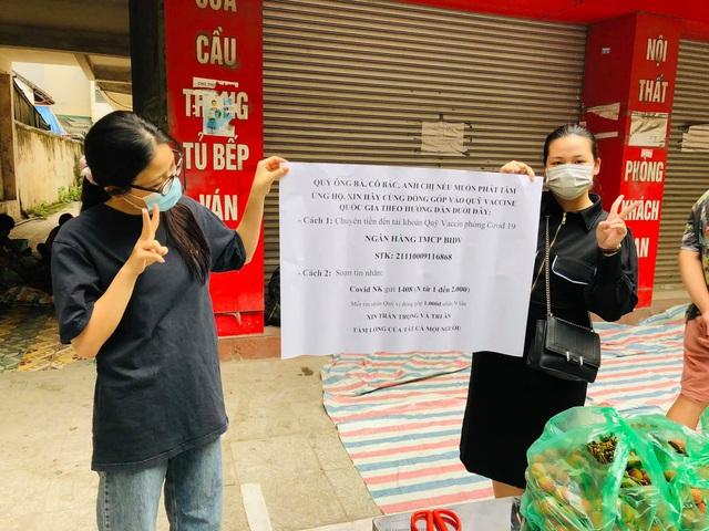 Người phụ nữ Hà Nội mua 2 tấn vải Bắc Giang để phát miễn phí, không nhận tiền ủng hộ mà hướng dẫn mọi người đóng góp cho Quỹ vaccine phòng Covid-19 - Ảnh 5.