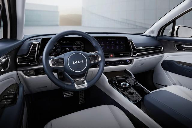 Kia Sportage 2022 ra mắt với kiểu dáng mới, nội thất nâng cấp hoàn toàn - Ảnh 7.