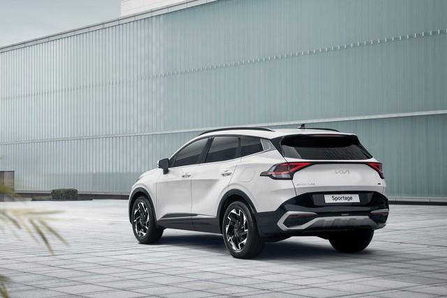 Kia Sportage 2022 ra mắt với kiểu dáng mới, nội thất nâng cấp hoàn toàn - Ảnh 3.