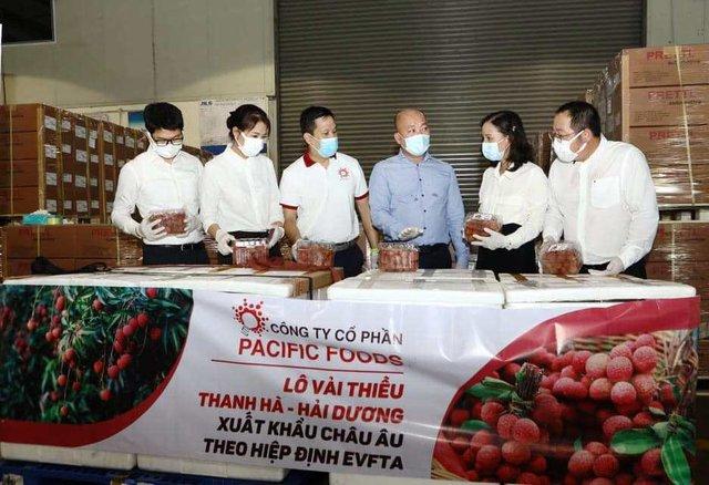Vải thiều Việt Nam chính thức 'chinh phục' thị trường EU - Ảnh 1.
