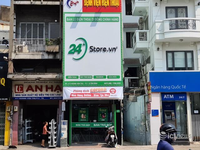 Cửa hàng điện thoại tại TP.HCM giảm 50% doanh thu - Ảnh 1.
