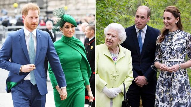 Nhà Sussex thân thiết với hoàng gia sau khi con gái chào đời, Meghan chủ động làm lành với chị dâu và phản ứng cao tay của Công nương Kate - Ảnh 1.