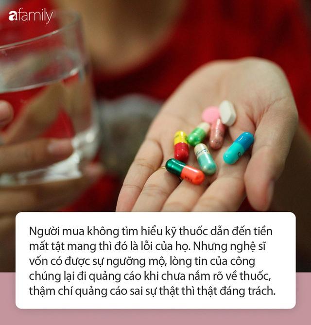 Đã có người gặp họa sau khi tin dùng thuốc được quảng cáo trên mạng: Chuyên gia nói chớ nhầm lẫn nghệ sĩ là bác sĩ! - Ảnh 2.