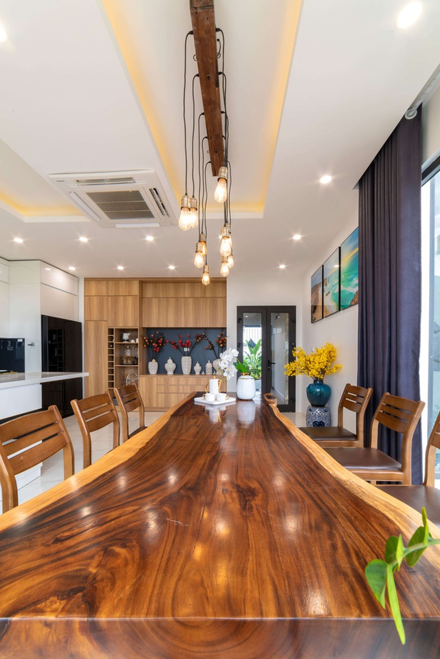 Căn nhà 5 tầng của vợ chồng Bát Tràng, thiết kế 3 ban công xanh nhưng vẫn đầu tư hẳn 400 triệu cho sân thượng 160m2  - Ảnh 16.